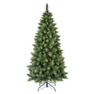 Künstlicher Weihnachtsbaum Kiefer Natur-Grün SLIM