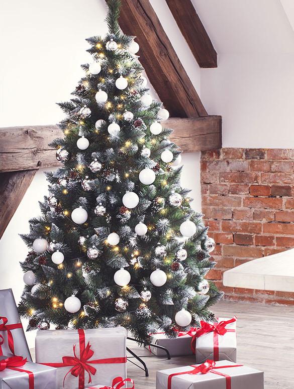 Weihnachtsbaum Im Topf Geschmückt.Künstliche Weihnachtsbäume Und Dekorationen Von Fairytrees