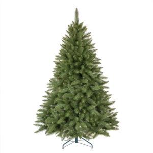 Geschmückter Künstlicher Weihnachtsbaum Mit Lichterkette.Künstlicher Weihnachtsbaum Nordmanntanne Künstliche
