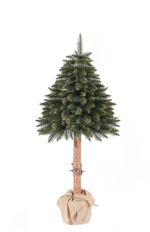 k nstlicher weihnachtsbaum im topf fichte naturstamm gr n k nstliche weihnachtsb ume und. Black Bedroom Furniture Sets. Home Design Ideas