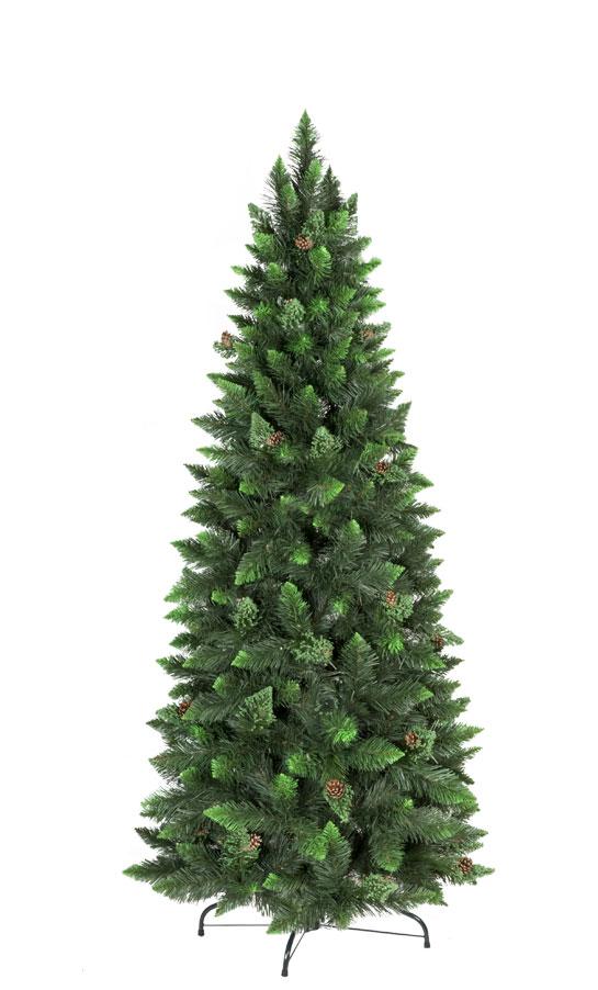 Kunstlicher Weihnachtsbaum Kiefer Natur Grun Slim Kunstliche