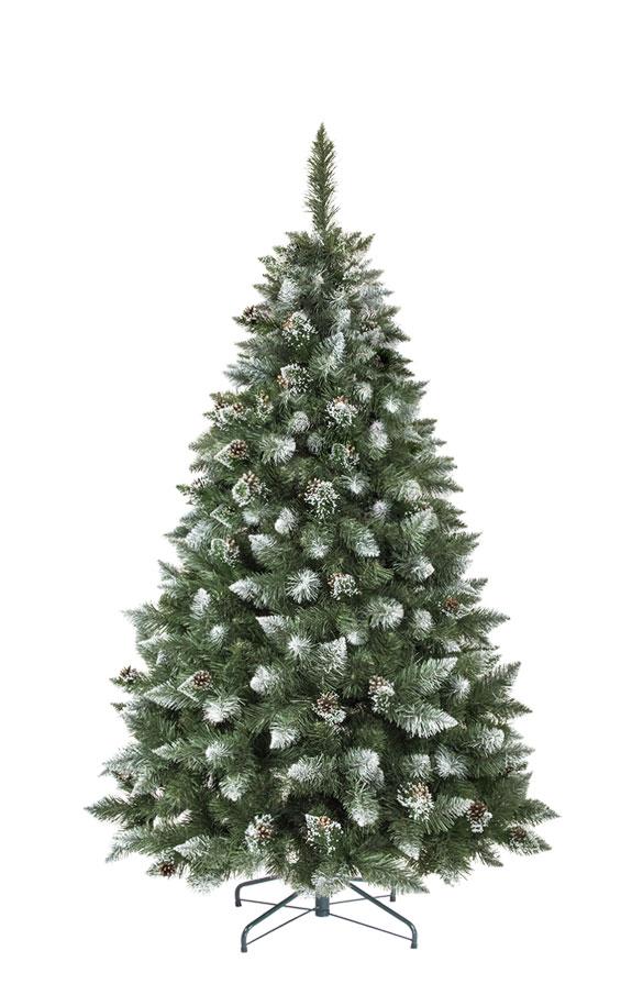 Weihnachtsbaum Plastik Weiß.Künstlicher Weihnachtsbaum Kiefer Natur Weiß Beschneit Künstliche