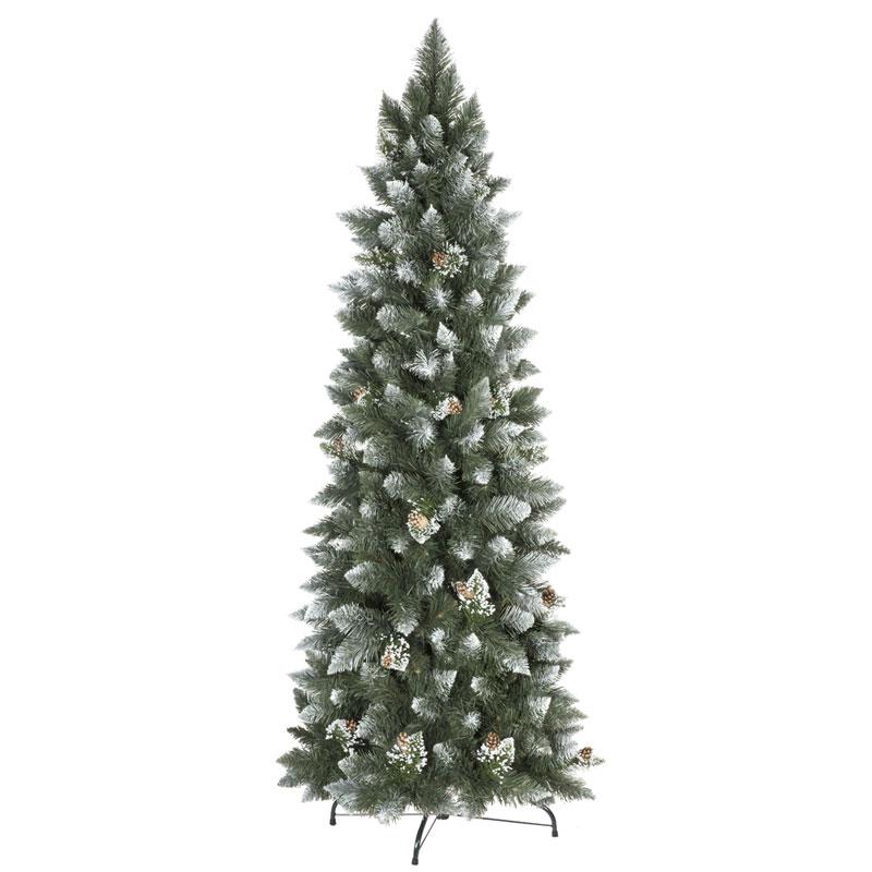 Kunstlicher weihnachtsbaum schneit
