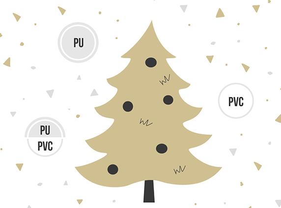 Aus welchem Material werden die künstlichen Weihnachtsbäume von FairyTrees hergestellt?