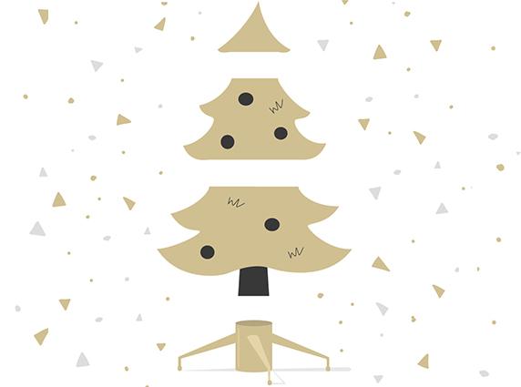 Aus wie vielen Teilen bestehen künstliche Weihnachtsbäume?