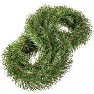 Hellgrüne Weihnachtsgirlande FairyGarland
