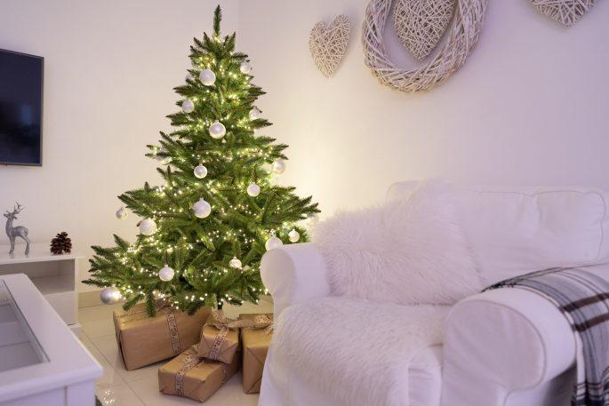 Weihnachtsbaum Nordmanntanne.Künstlicher Weihnachtsbaum Nordmanntanne Künstliche